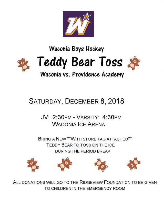 WHS Teddy Bear Toss